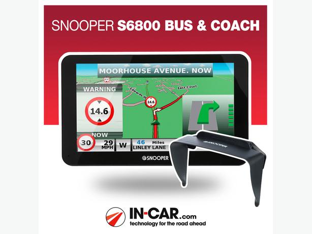 Snooper Bus & Coach S6800 1 week old