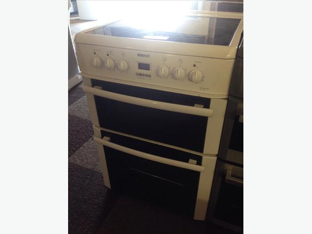 WHITE BEKO ELECTRIC COOKER 60CM WHITE1