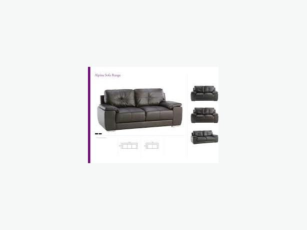 LONDON 3+2 LEATHER SOFA SET