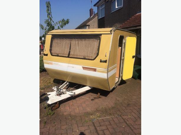 sprite compact pop top caravan