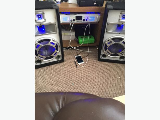 1000w+amplifier and speakers bargain surround sound stereo