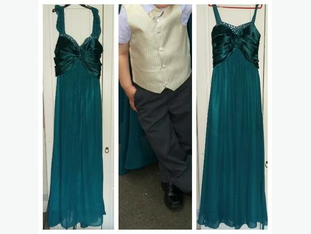 2 dresses + 1 waistcoat set