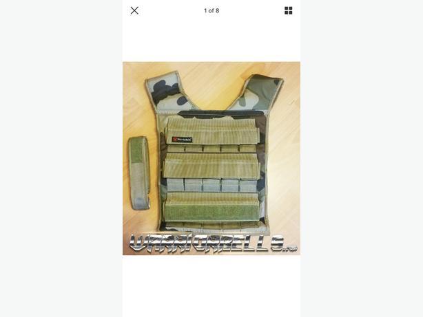 Warrior 30KG Weighted Training Vest