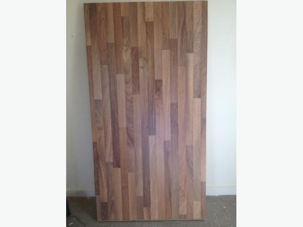 1.2m x 67cm Butchers block style laminate Kitchen worktop