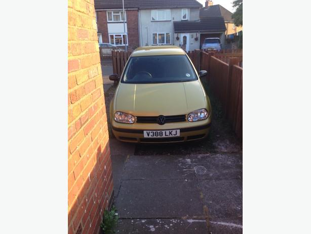 1999 vw golf 1.6sr