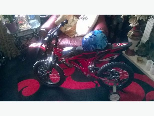 avigo 16 inch motor x  style pedal bike