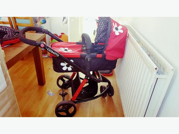 cosatto pram and carrycot
