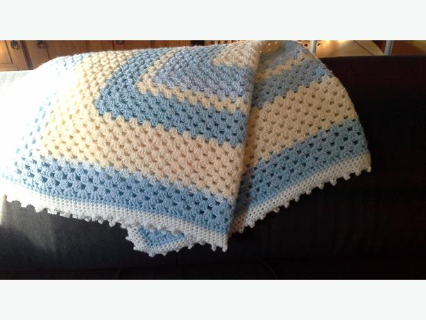 New hand crocheted blankets