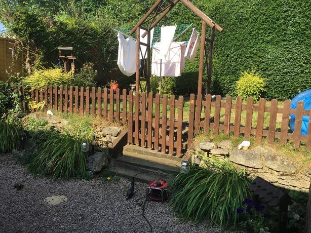 picket fence + gate