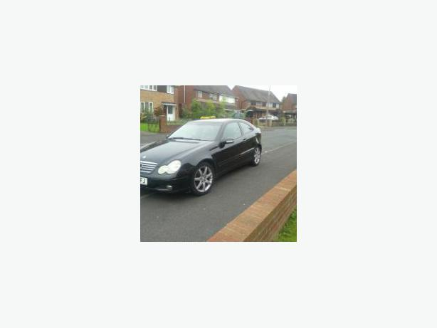 mercedes coupe c 220 tdi 53 plate