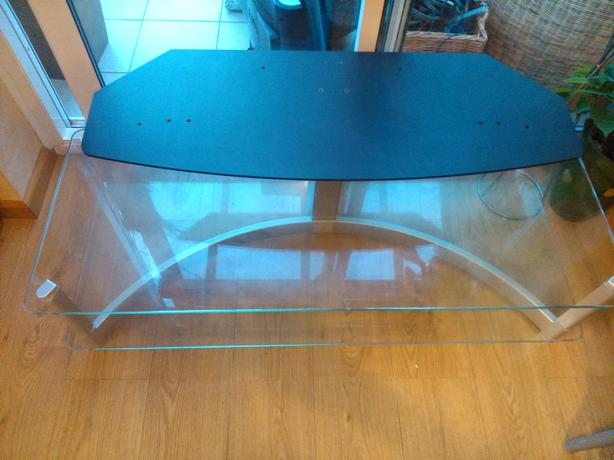 "Glass TV Stand - up to 50"" TV"