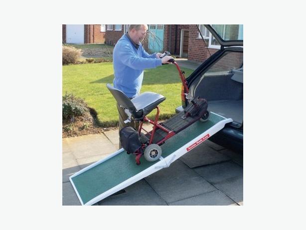 Mobility car ramp