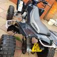ROAD LEGAL TE450 QUAD MOTED UPGRADES not MX ENDURO OFF ROAD