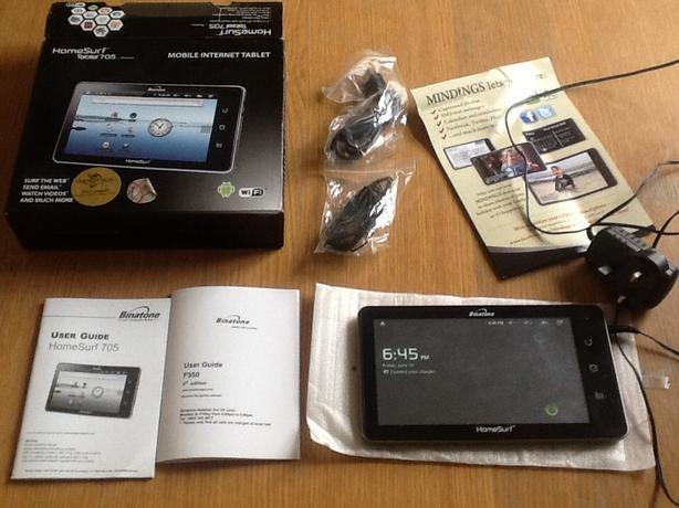 Homesurf tablet 705