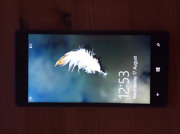 lumia 830 (EE) windows 10 (4G)