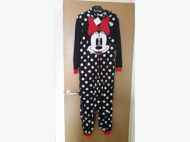 Brand New Ladies Minnie Mouse Onesie Size 14-16