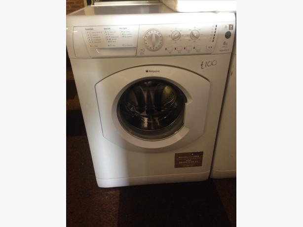 6KG HOTPOINT WASHING MACHINE WHITE..
