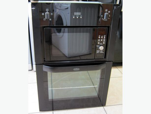 Belling BI90FMW Black Built In Electric Oven / Microwave Combi with Warranty
