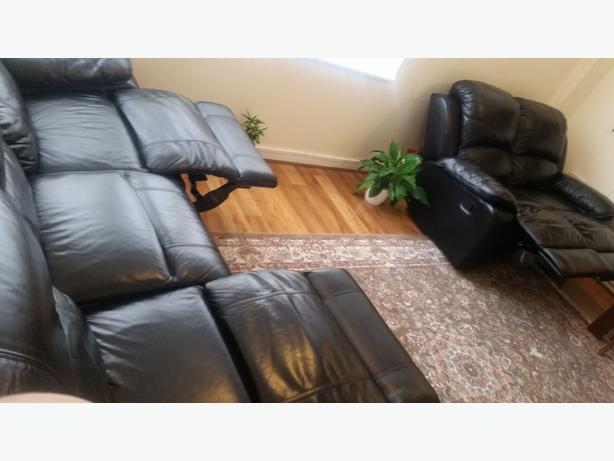 manual  recliner sofa 2 + 3 seater sofa set