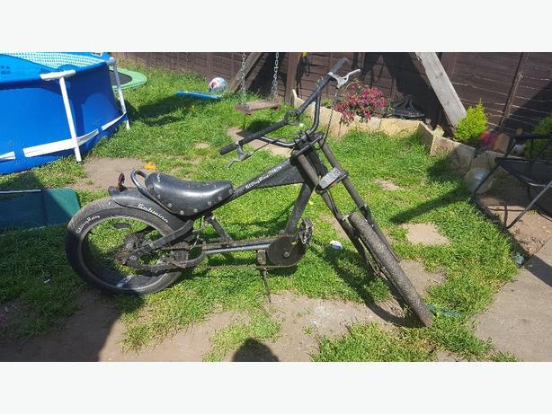 Sting ray chopper bike