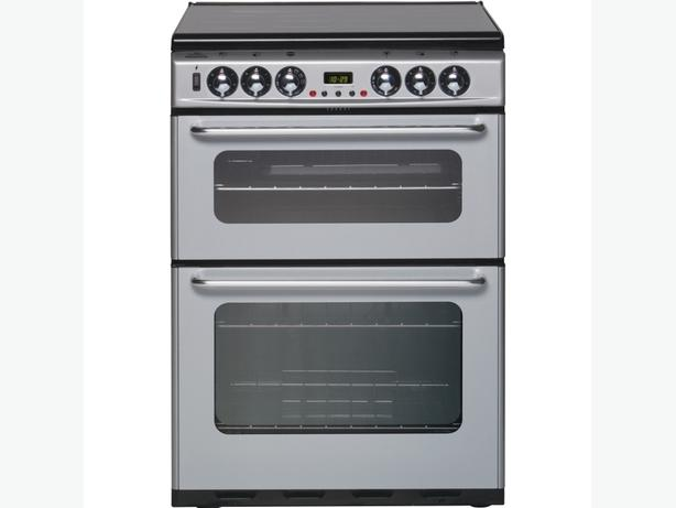 Stoves electric cooker : silver/black : good condition