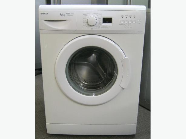 Beko 1500 Spin 6kg Capacity Washing Machine, Digital Display, 6 Month Warranty