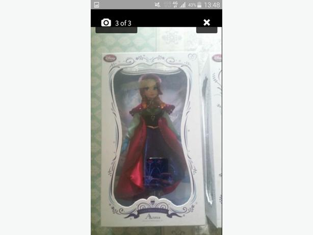 frozen limited edition 17inch dolls