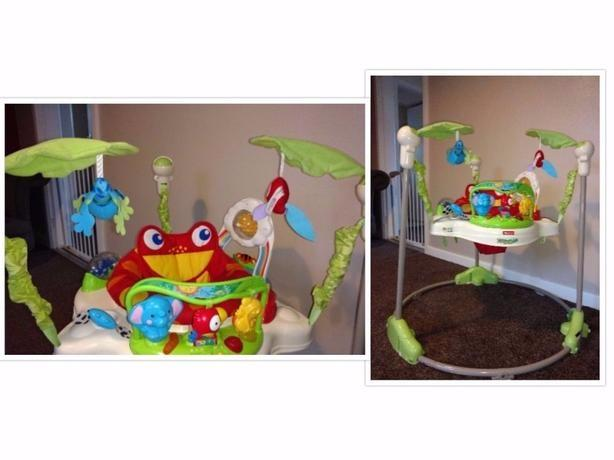fisherprice rainforest jumperoo!