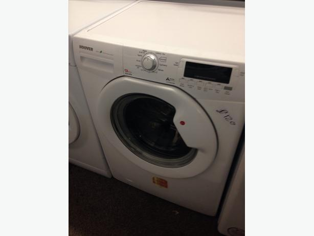 WHITE HOOVER 9KG 1600 SPIN WASHING MACHINE2