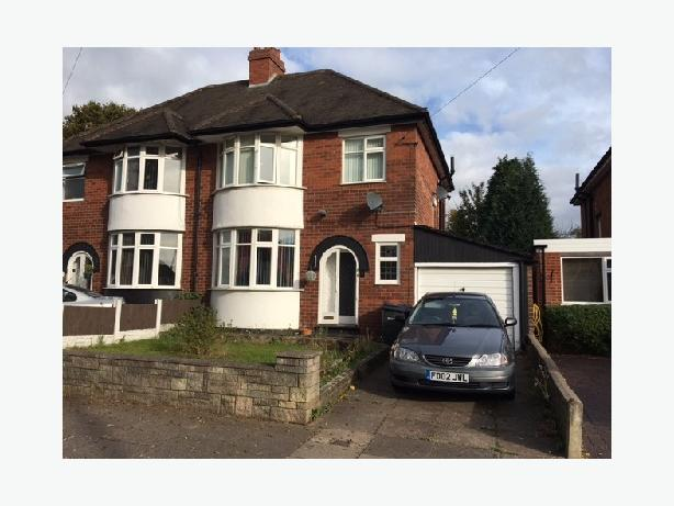 *B.C.H*-Yateley Crescent, Great Barr-3 Bedroom SemI-Detached
