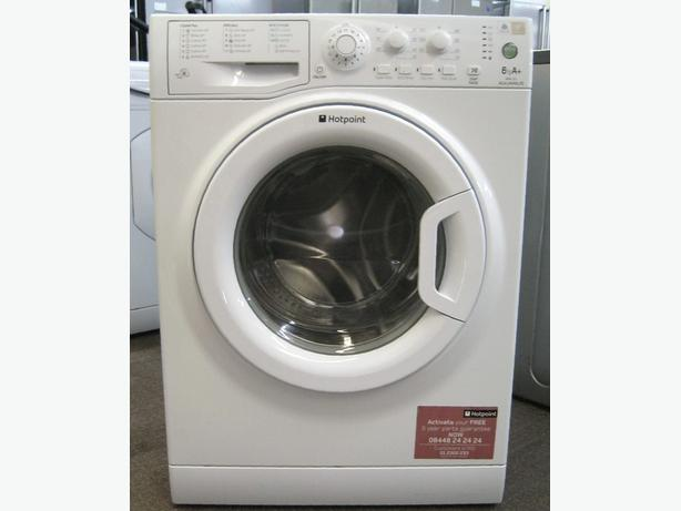 Modern Hotpoint 1200 Spin 6kg Load Washing Machine, 6 Month Warranty