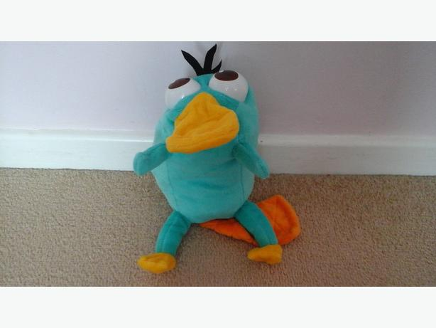 Perry the platypus (changes into agent p)