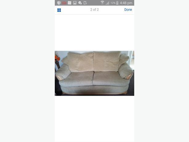 3+2 cream sofa/consider a swop