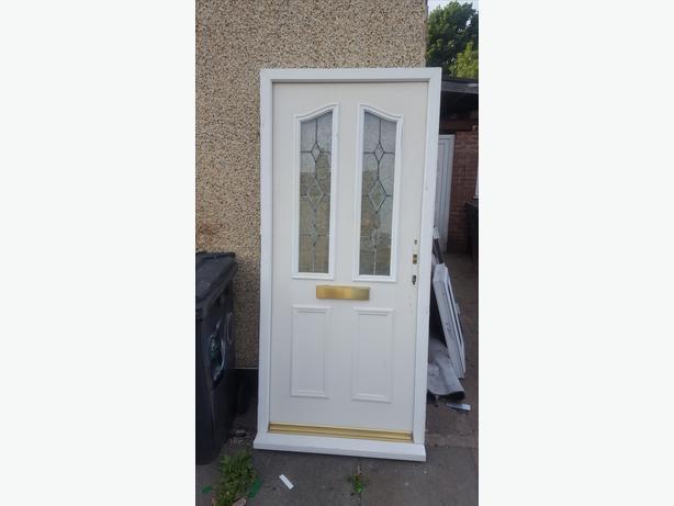 Upvc composite door