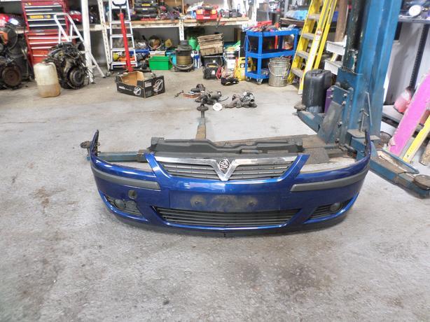 corsa c front bumper z21b blue