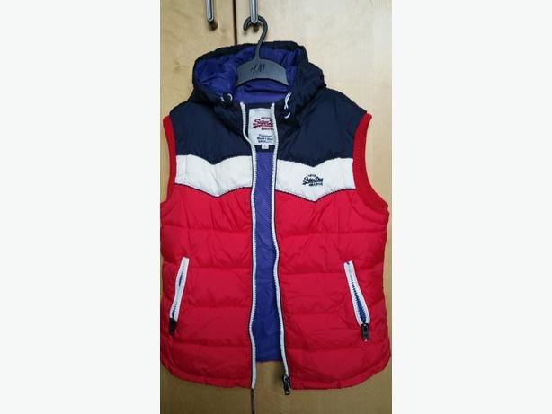 superdry hooded body warmer