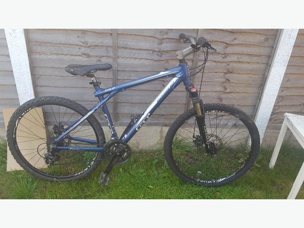 GT aggressor xc3 mountain bike