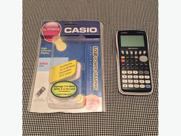 CASIO FX-9750GII GRAPHIC CALCULATOR