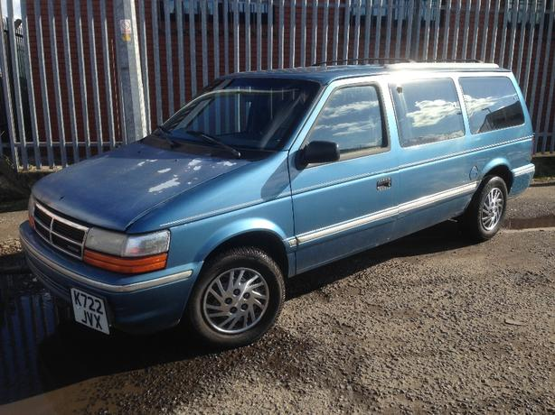 dodge grand caravan 7stear LHD 1993