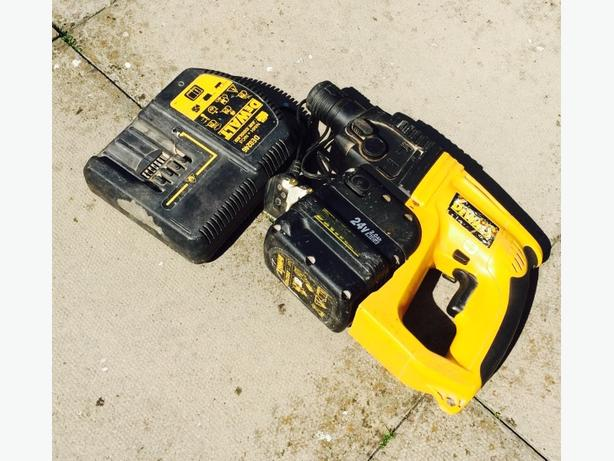 Dewalt 24V Cordless SDS HAMMER DRILL, Very powerful, Bargain. (NO OFFERS)