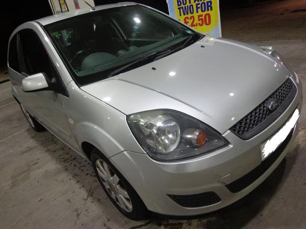 2007 top spec ford fiesta 1.2 with long mot taxed+FREE DELIVERY OR DRIVEAWAY