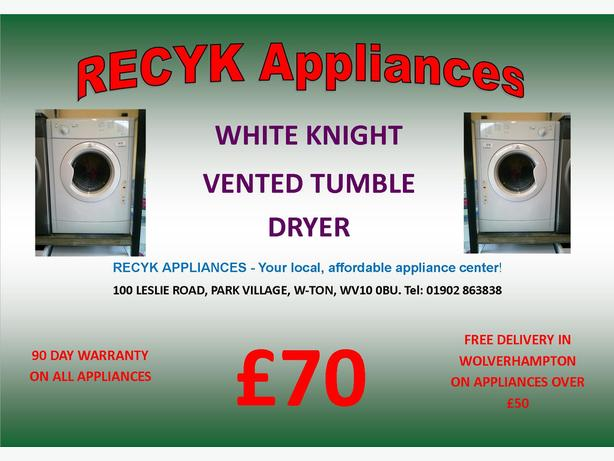 INDESIT VENTED TUMBLE DRYER LOTS MORE IN STOCK