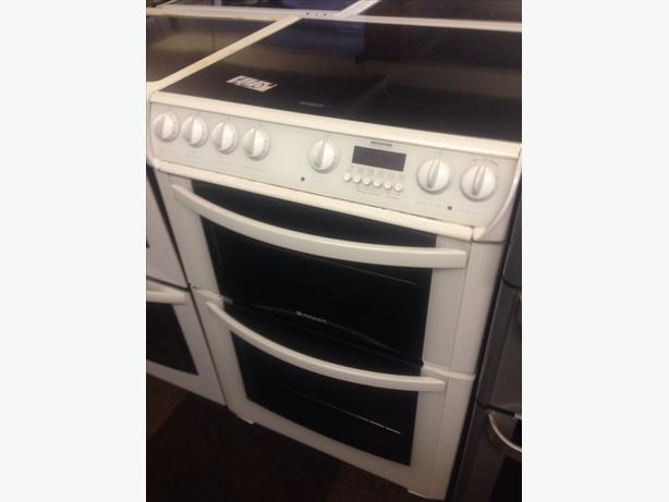 HOTPOINT ELECTRIC COOKER DOUBLE OVEN 60CM