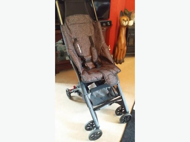 mothercare xss pockit stroller leopard design excellent condition
