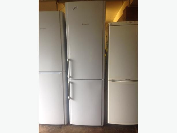 WHITE HOTPOINT FRIDGE / FREEZER3