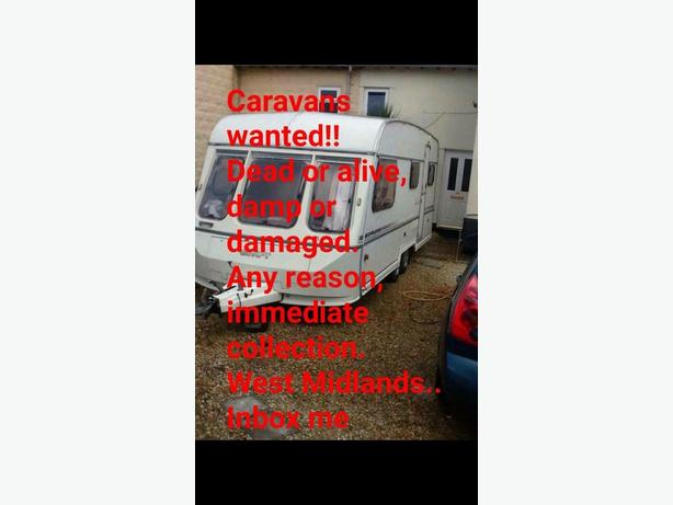 WANTED: caravans dead or alive