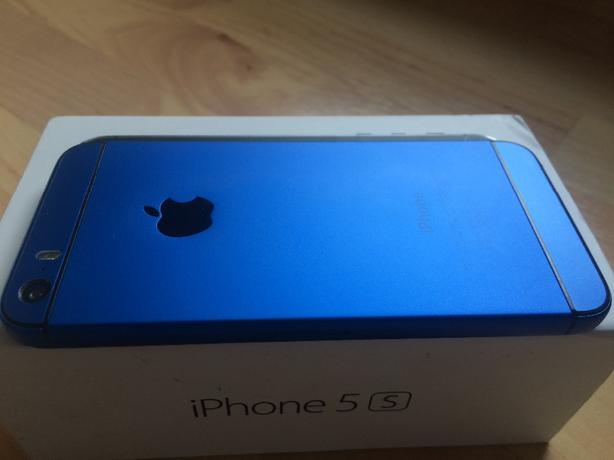 iphone 5s 16gb blue mini 6 edition