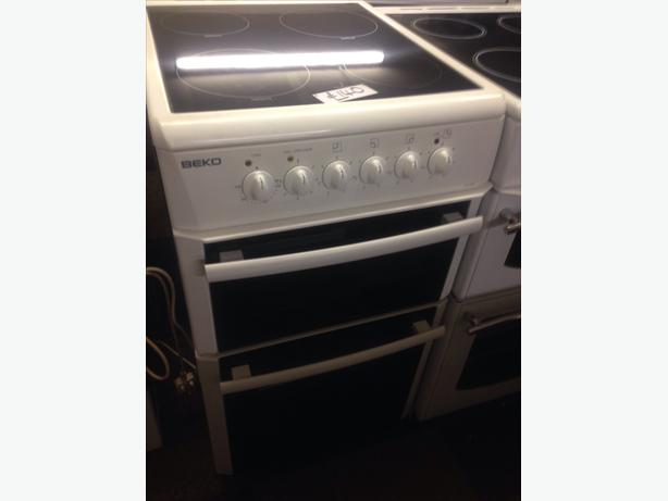 BEKO 50CM CERAMIC GLASS TOP ELECTRIC COOKER2