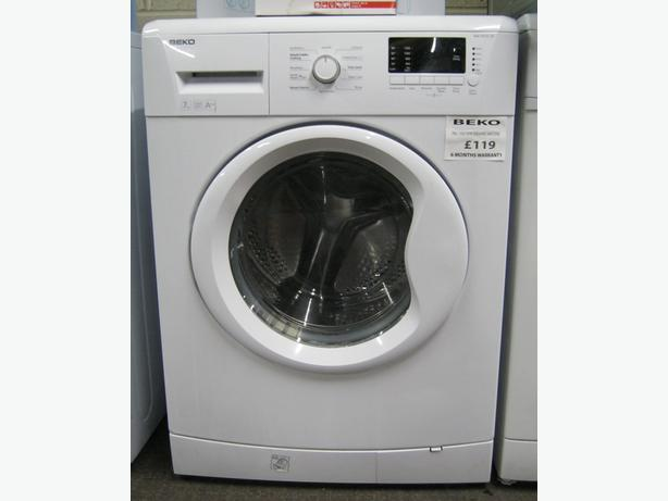 Clearance! Beko 1500 Spin 7kg Washing Machine, 6 Month Warranty