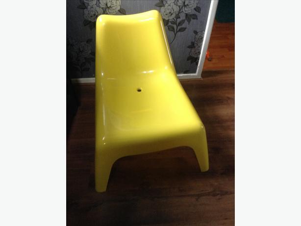 Ikea yellow chair